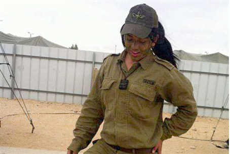 Mona Abdo is the first female Arab combat com