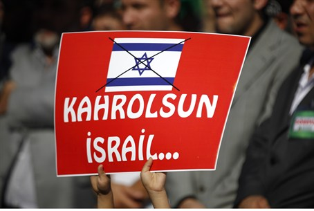 Turkish Islamists rally against Israel