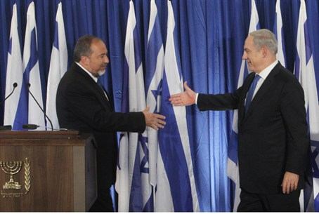 Liberman and Netanyahu announce alliance