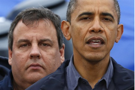 President Obama and Gov. Christie