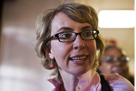 Former senator Giffords faced her shooter for