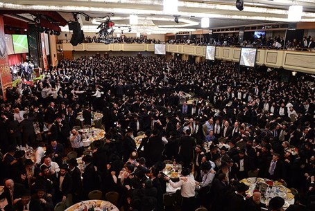 Dancing at Chabad 'Siyum'