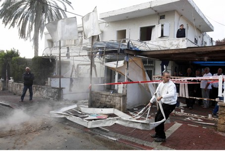 Rocket attack on Netivot (archive)