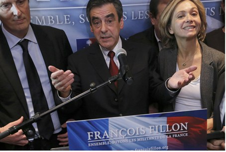 "Fillon claims ""victory"""