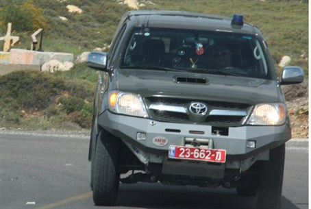 Border Guard vehicle