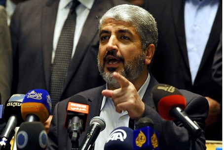 Hamas' leader in exile Meshaal