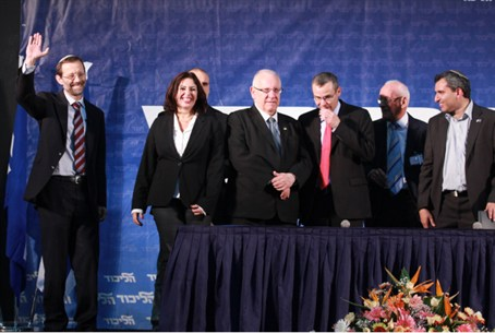 Feiglin Joins Elected Team of MKs