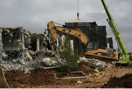 Demolition in Ulpana neighborhood