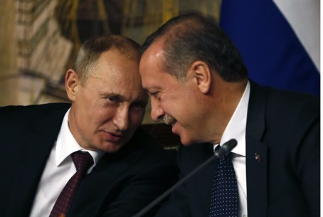 Putin with Erdogan