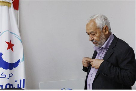 Rached Ghannouchi, leader of Tunisia's Islami