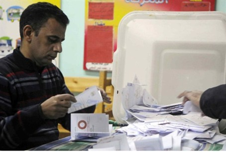 Counting votes in Egypt