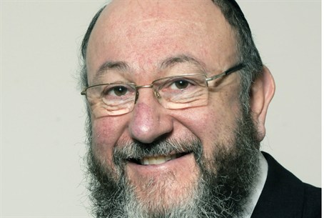 New British Chief Rabbi Ephraim Mirvis