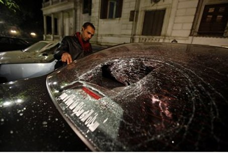 Islamists attacked the opposition Wafd party'