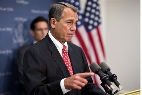 Republican John Boehner framed Plan B,