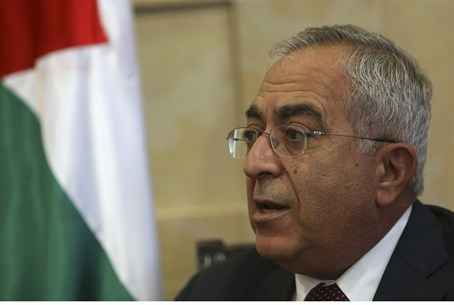 Palestinian Authority Prime Minister Salam Fa