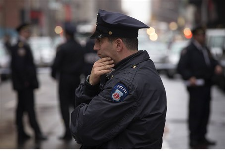 police officer in NY