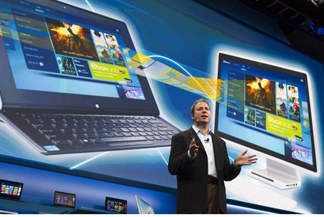 Intel presents its newest electronics and pro