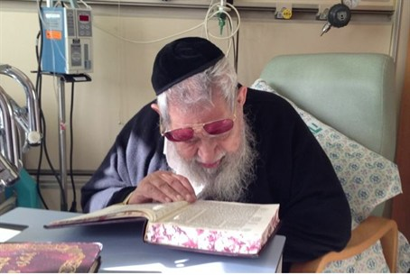 Rabbi Ovadia in hospital