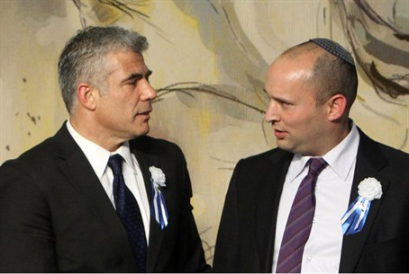 Lapid and Bennett: Friends till the end?