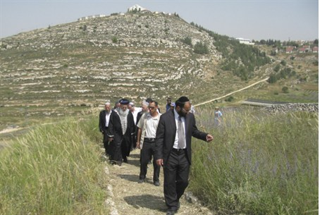 Touring the hills of Samaria (Shomron)
