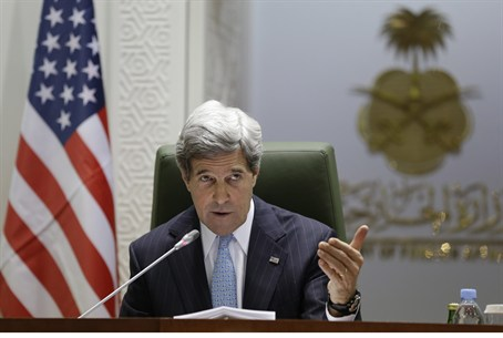 US Secy of State John Kerry in Riyadh