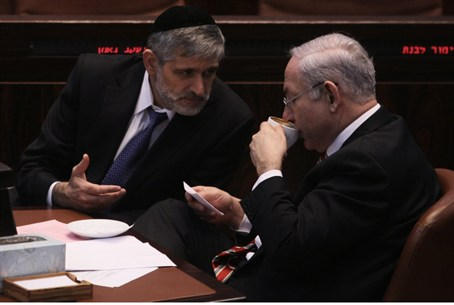 Netanyahu and Yishai (archive)