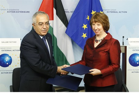 EU foreign policy chief Catherine Ashton with