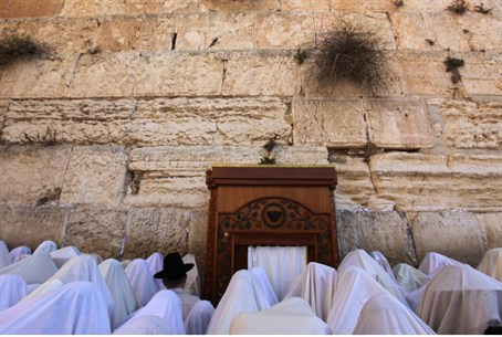 Birkat Kohanim at the Western Wall