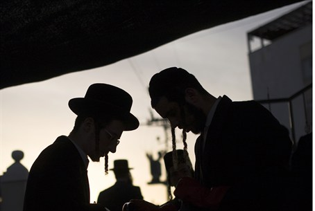 ultra-Orthodox men