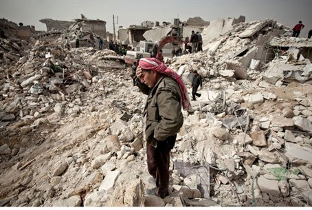 Destruction in Syria