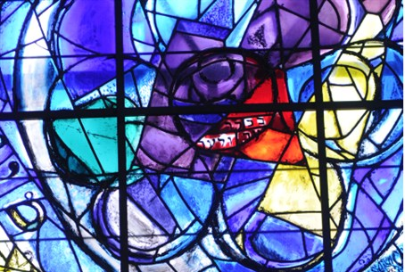 The Chagall Windows in the Abbell Synagogue a