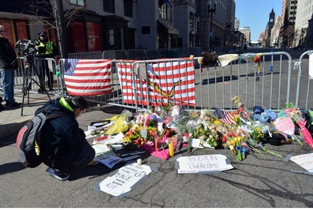 site of Boston attack