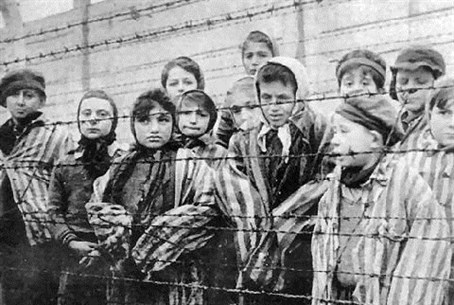 Jewish children in the Holocaust