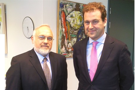 Rabbi Abraham Cooper and the Netherlands' Dep
