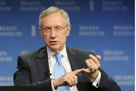 U.S. Senate Majority Leader Harry Reid (D-NV)