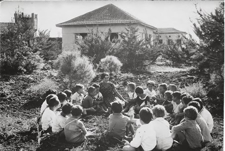 Children at Kibbutz Nahalal