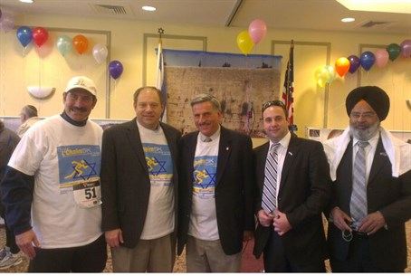 2th annual L'Chaim Run Walk for Israel