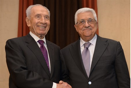 Peres and Abbas (archive)