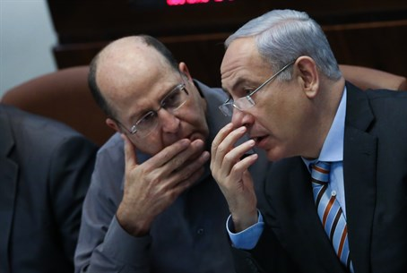 Netanyahu and Yaalon