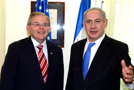 Menendez with Netanyahu