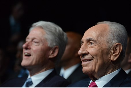 Bill Clinton, Shimon Peres