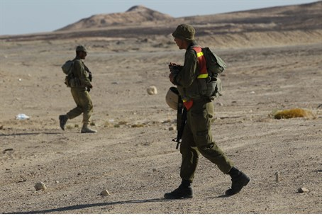 IDF patrols near Sinai border
