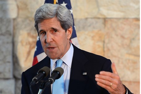John Kerry in Tel Aviv, June 2013