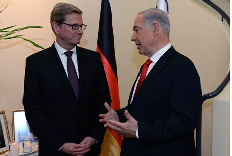 Netanyahu and Westerwelle
