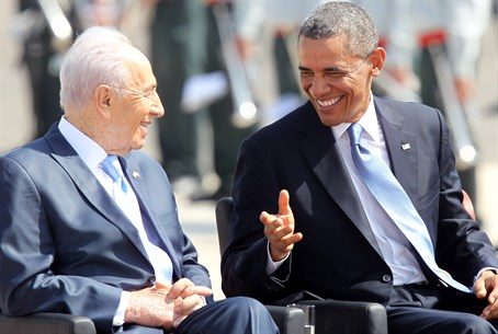 Peres and Obama