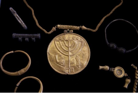 The medallion and other finds