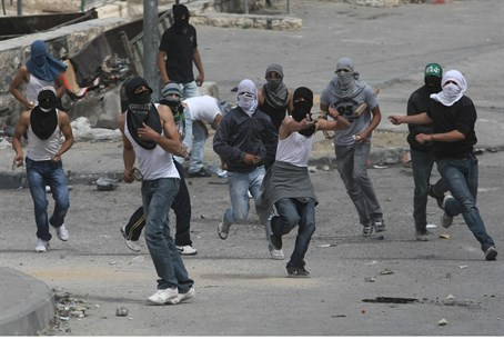 Arab riot in Jerusalem (file)
