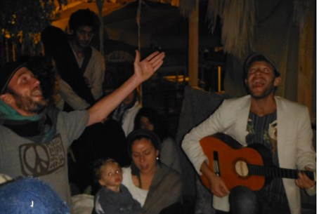 Jerusalem Soul Center sukkah party