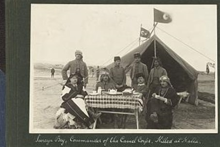 British Camel Corps WWI