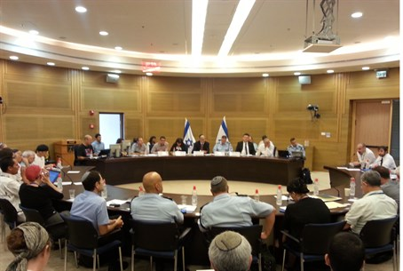 Knesset discusses Taser